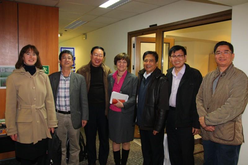 31 października 2012 r. - Wizyta przedstawicieli Czesko-Chińskiego Stowarzyszenia Międzykulturalnego w Instytucie Pracy i Spraw Socjalnych